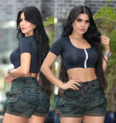 Shorts Cargo Mx130997 stretch camuflado