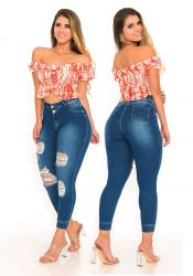 Capri jeans Cb70736 destroyed