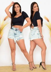 Shorts-Saia  PREMIUM  Cb70841 sem stretch